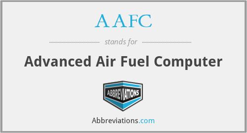 AAFC - Advanced Air Fuel Computer