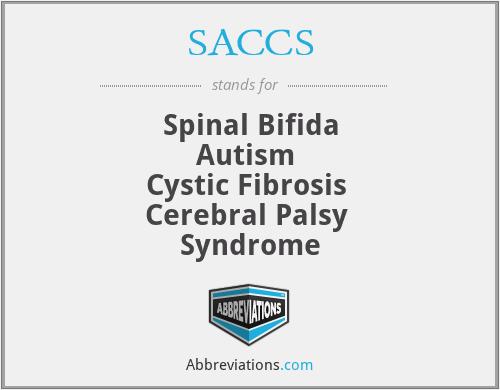 SACCS - Spinal Bifida Autism  Cystic Fibrosis  Cerebral Palsy  Syndrome