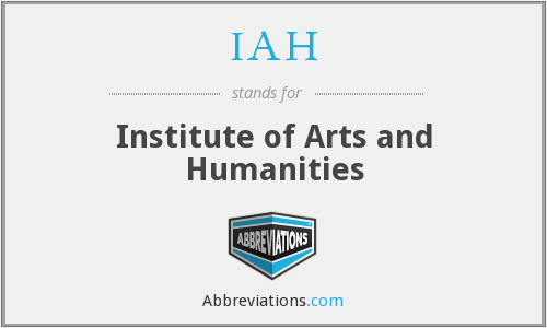 IAH - Institute of Arts and Humanities