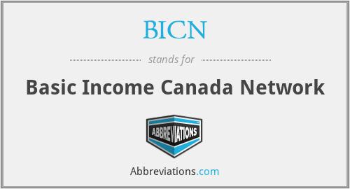 BICN - Basic Income Canada Network