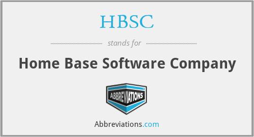 HBSC - Home Base Software Company