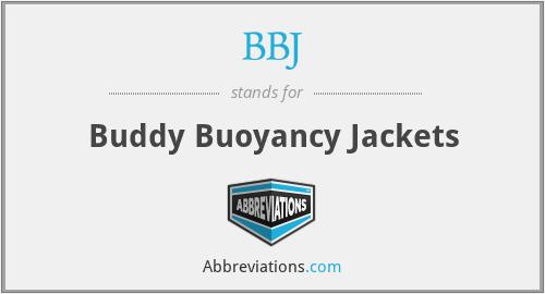 BBJ - Buddy Buoyancy Jackets