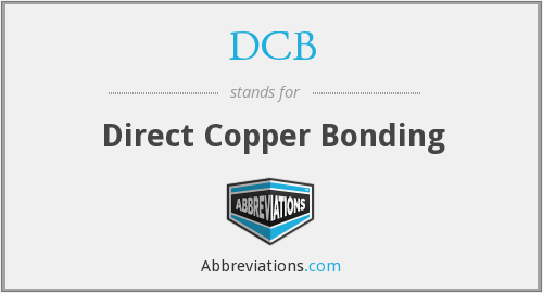 DCB - Direct Copper Bonding