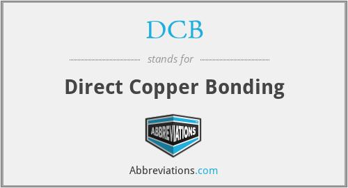 DCB - Direct Copper Bonding