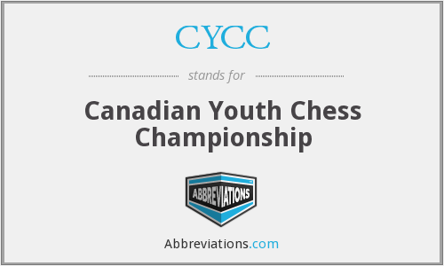 CYCC - Canadian Youth Chess Championship