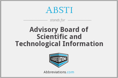 What does ABSTI stand for?