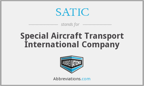 What does SATIC stand for?