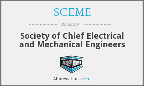 What does SCEME stand for?