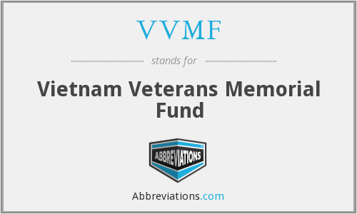 What does VVMF stand for?