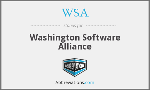 WSA - Washington Software Alliance