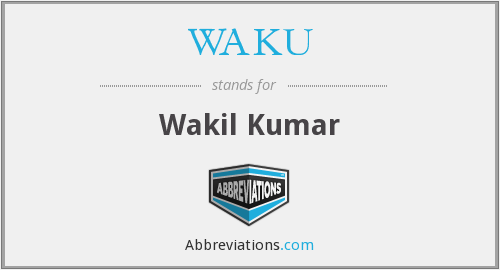 What does WAKU stand for?