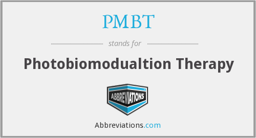 What does PMBT stand for?