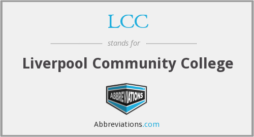 LCC - Liverpool Community College