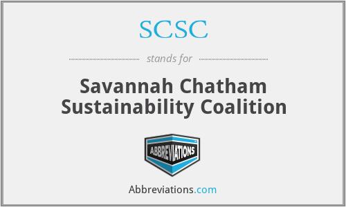 SCSC - Savannah Chatham Sustainability Coalition
