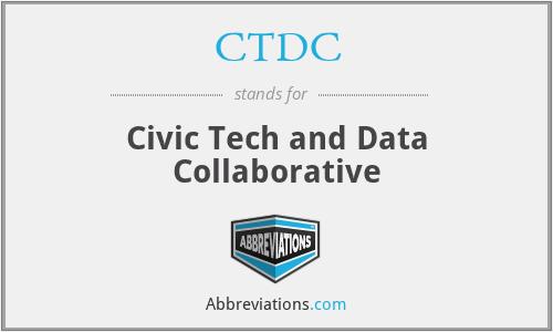 CTDC - Civic Tech and Data Collaborative