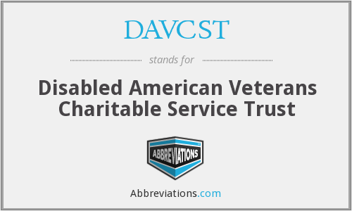What does DAVCST stand for?