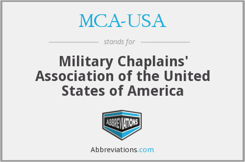 What does MCA-USA stand for?