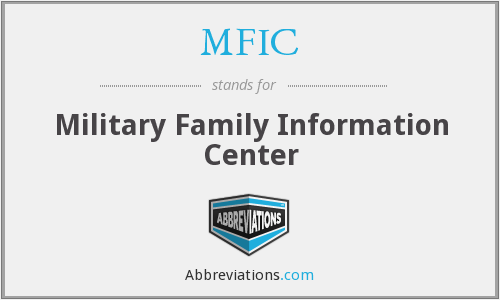 MFIC - Military Family Information Center
