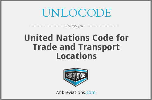 What does UNLOCODE stand for?