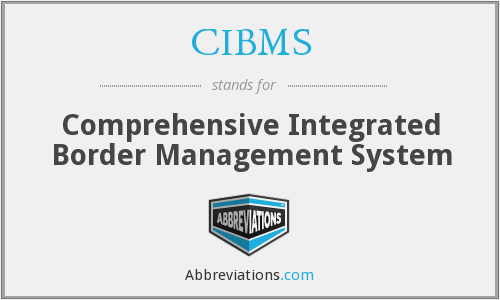 What does CIBMS stand for?