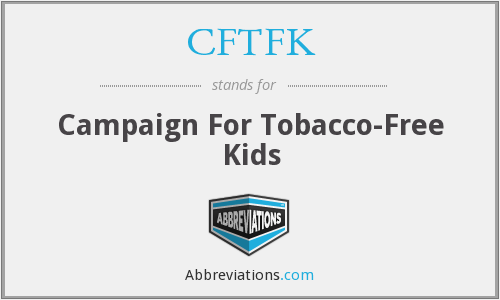 What does CFTFK stand for?