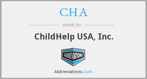 CHA - ChildHelp USA, Inc.