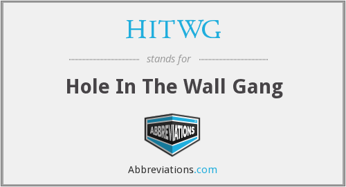 What does HITWG stand for?