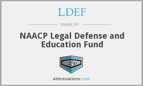 What does LDEF stand for?