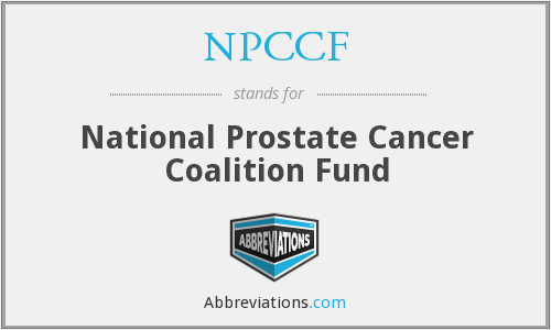 What does NPCCF stand for?