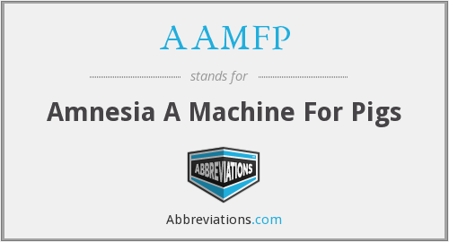 What does AAMFP stand for?