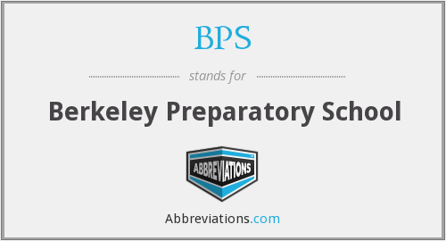 BPS - Berkeley Preparatory School