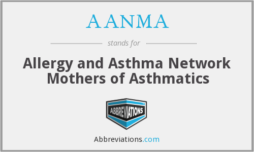 AANMA - Allergy and Asthma Network Mothers of Asthmatics