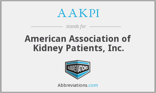 AAKPI - American Association of Kidney Patients, Inc.