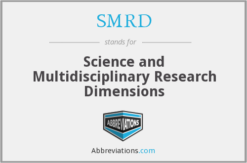 SMRD - Science and Multidisciplinary Research Dimensions