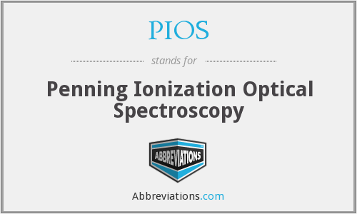 PIOS - Penning Ionization Optical Spectroscopy