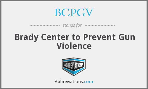 What does BCPGV stand for?