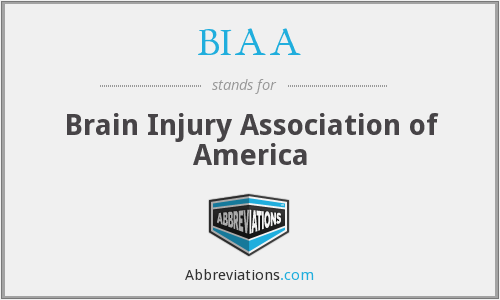 What does BIAA stand for?