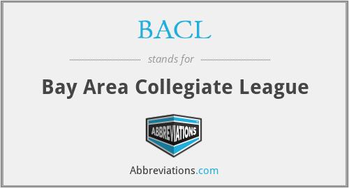 BACL - Bay Area Collegiate League