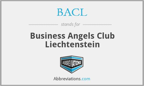 BACL - Business Angels Club Liechtenstein