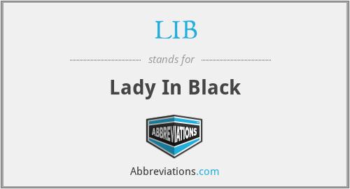 LIB - Lady In Black
