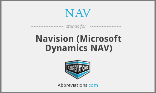 NAV - Navision (Microsoft Dynamics NAV)