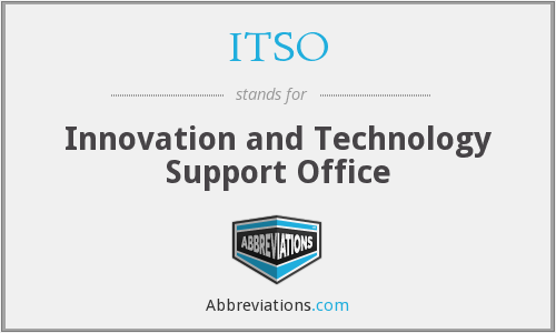ITSO - Innovation and Technology Support Office