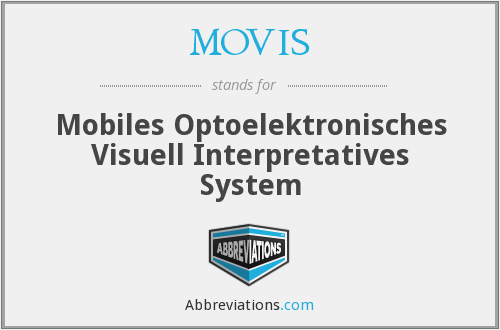 What does MOVIS stand for?