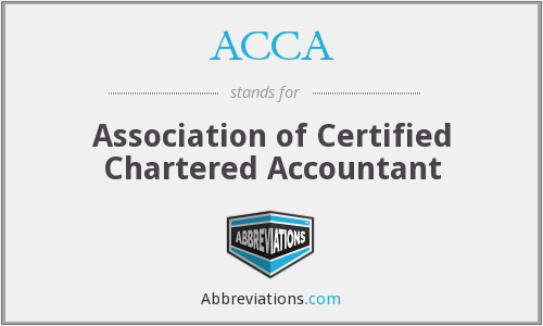 ACCA - Association of Certified Chartered Accountant