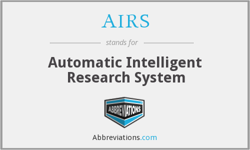AIRS - Automatic Intelligent Research System