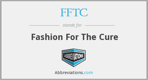 FFTC - Fashion For The Cure