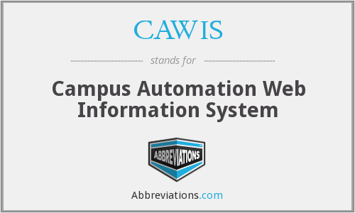 What does CAWIS stand for?
