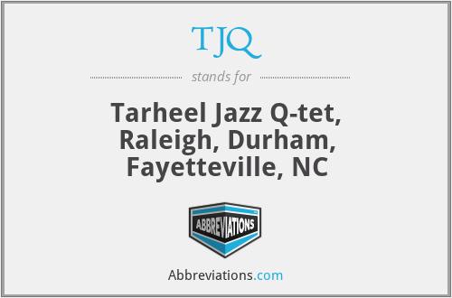 TJQ - Tarheel Jazz Q-tet, Raleigh, Durham, Fayetteville, NC
