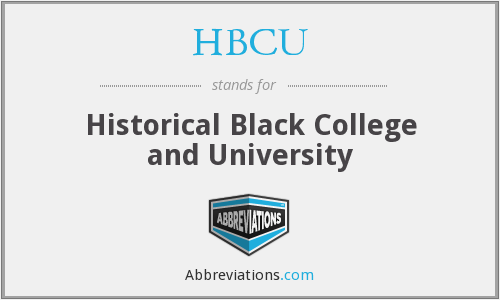 HBCU - Historical Black College and University