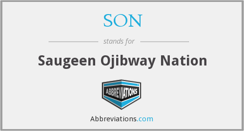 SON - Saugeen Ojibway Nation